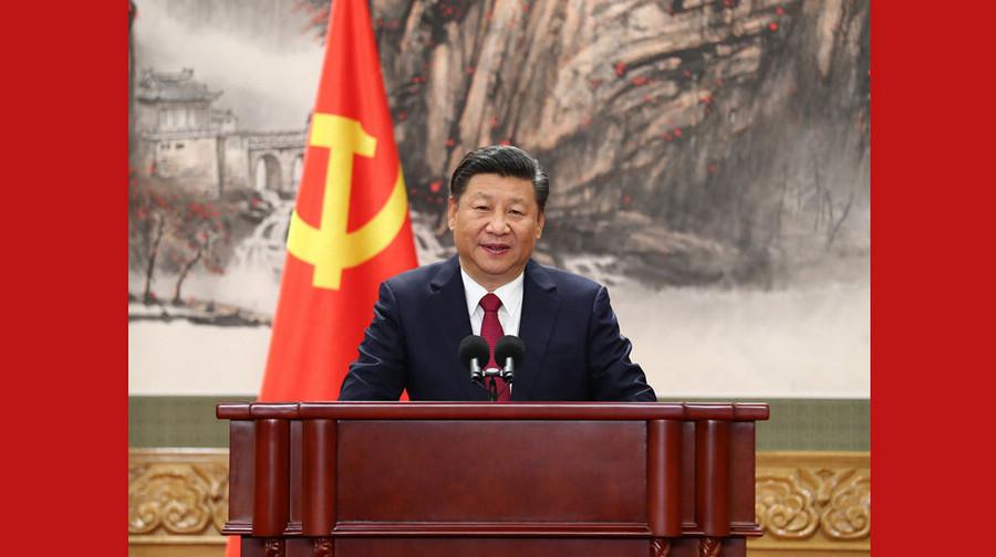 Си Цзиньпин во главе ПК Политбюро ЦК КПК нового созыва встретился с китайскими и зарубежными журналистами