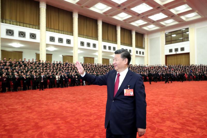 Си Цзиньпин встретился с делегатами 19-го съезда КПК
