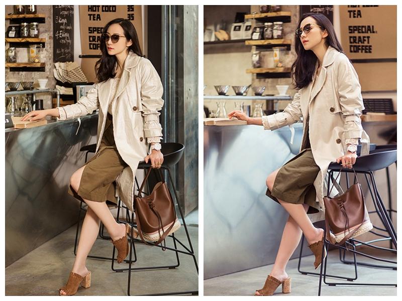 Модная фотосессия актрисы Хань Сюе