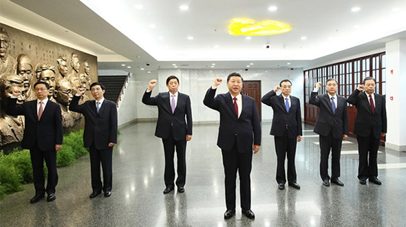 Высшие руководители КПК подтвердили верность своей миссии на месте рождения партии