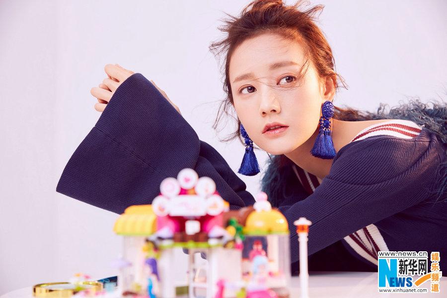 Очаровательная актриса Ли Итун