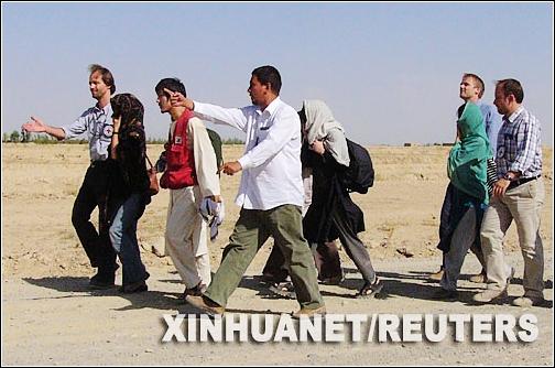 Talibán,rehenes surcoreanos 1