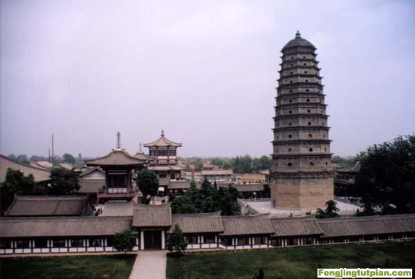 Templo Famen - La Meca budista de China - se amplia 1