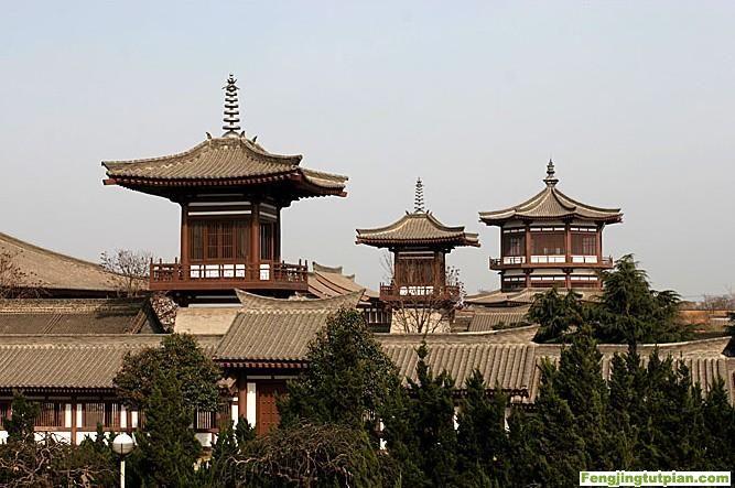 Templo Famen - La Meca budista de China - se amplia 2