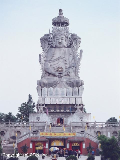 Templo Famen - La Meca budista de China - se amplia 4