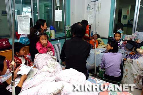 Crece a 260 cifra de niños hospitalizados por intoxicación con alimentos en China 1