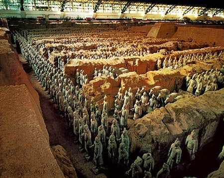 Mausoleo del Emperador Qin Shihuang, terracota6