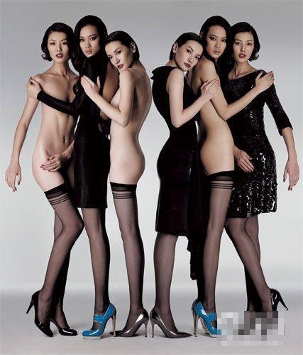 Fotos desnudas de las modelos chinas1