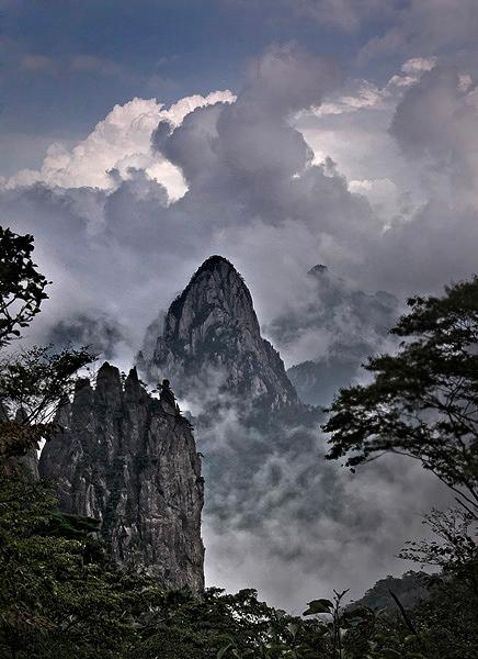 Las Montañas Amarillas (Huangshan)_Spanish.china.org.cn