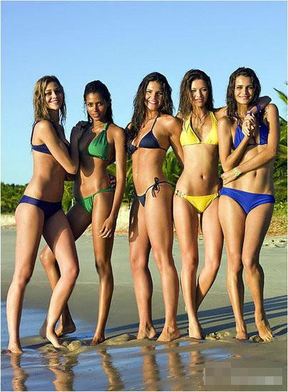 Chicas brasileñas,playa5