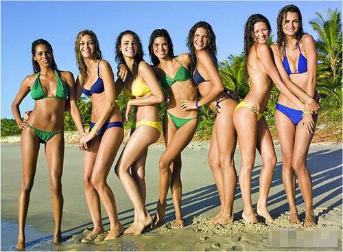 Chicas brasileñas,playa7