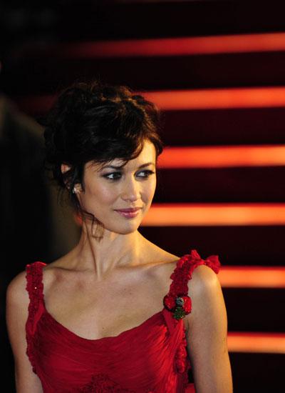 La actriz ucraniana Olga Kurylenko llega al estreno mundial de la ...