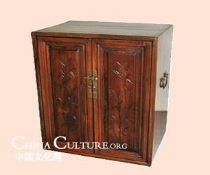 Extraños y antiguos muebles de madera chinos 1