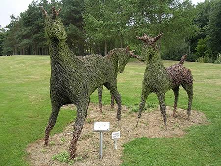 Esculturas con el cesped. 0011432109d20bc4fe2a40