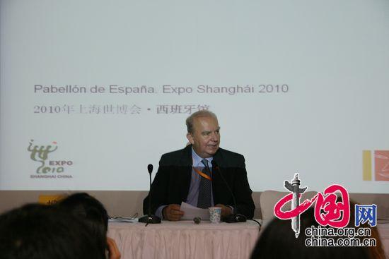 Javier Conde, comisario espa?ol para la Expo