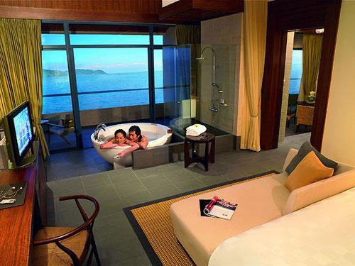 Los diez mejores cuartos de baño de los hoteles de Sanya, en Hainan ...