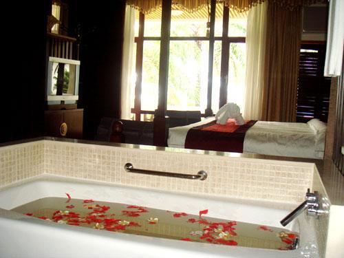 Los diez mejores cuartos de ba o de los hoteles de sanya - Banos de hoteles ...