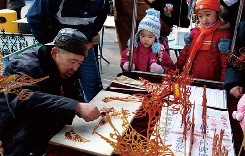 Cuadros de azúcar-un precioso arte comestible-Sichuan 3