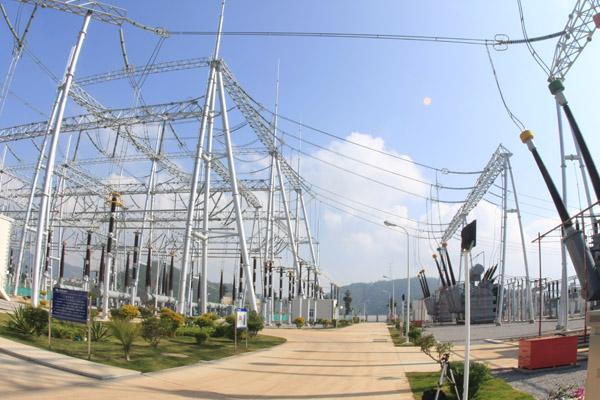 Transmisión de electricidad -del oeste al este