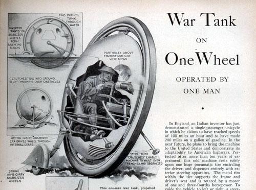 Los inventos militares fracasados