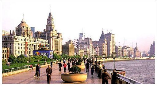 El Bund-Yuyuan-Rascacielos en Lujiazui-Casas Shikumen-Calle Nanjing-Montaña Sheshan-Pueblo de Fengjing-Lago Dingshan-El Templo Longhua-Shanghai 1