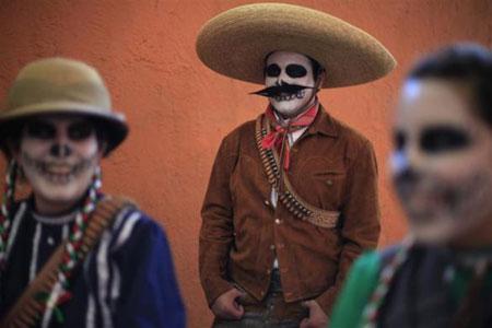 Lienzo La Nacional-Ciudad de México-2010-Vaqueras mexicanas 1