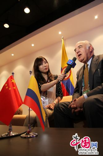 Expo 2010-Shanghai-China-Colombia-Gustavo Gaviria Angel-comisario general-pabellón 4