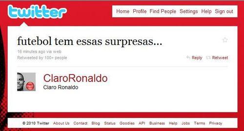 Mundial 2010: Ronaldo se sorprende con derrota de España