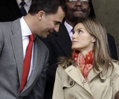 Don Felipe y Doña Letizia animaron a la selección de Espña