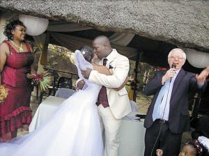 La boda blanca de los africanos