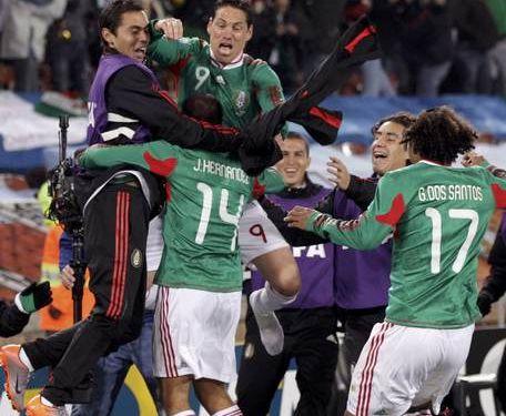 México rompe su historia y vence a Francia
