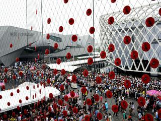 Número de visitantes de la Expo Universal de Shanghai