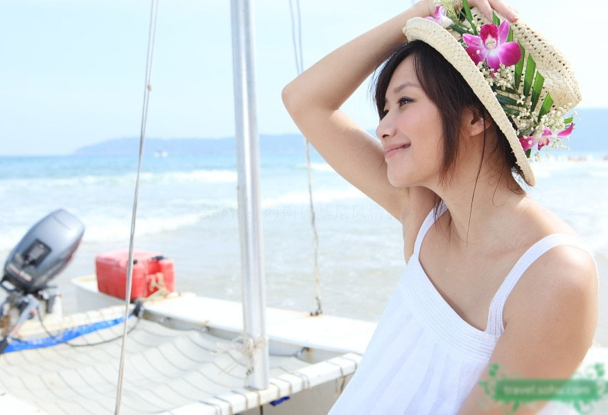 ¡A la playa de Hainan!