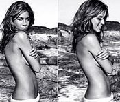 Jennifer Aniston,posa en topless ,perfume