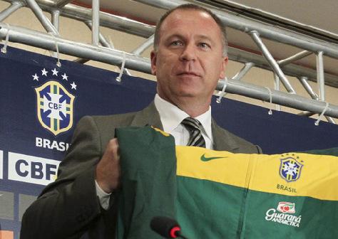 Menezes se presenta formalmente como el técnico de la selección brasileña