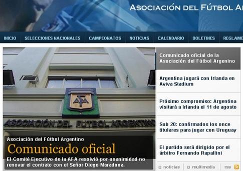 Maradona-despedido-selección-argentina-fútbol-Argentina-Julio Grondona 4