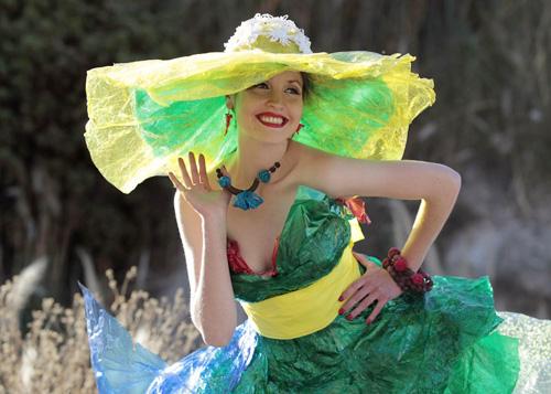 Desfile de la moda en La Paz, Bolivia