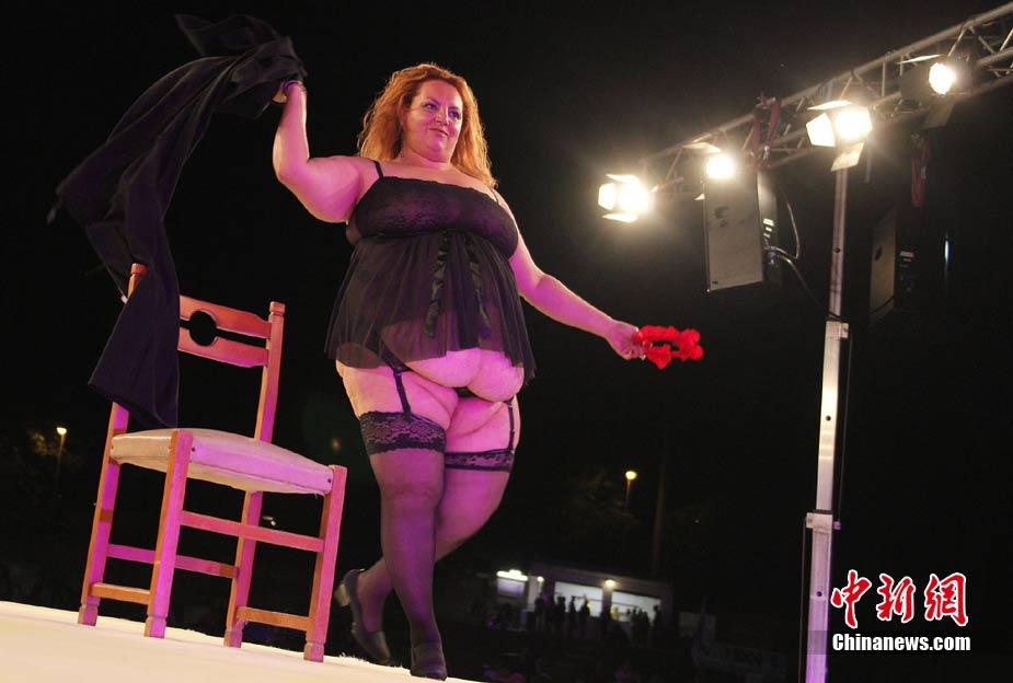 Concursos de bellezas gordas en Italia 1
