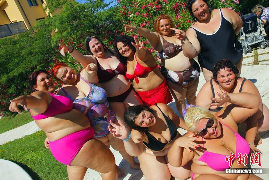 Concursos de bellezas gordas en Italia 6