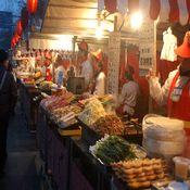 Mercados nocturnos más calientes de China