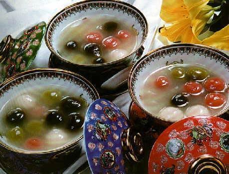 Postres y platos dulces de Hainan