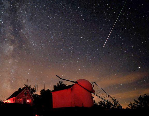 Llegan a la Tierra las lluvias de meteoritos perseidas