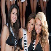 Las candidatas a Miss Universo en Las Vegas