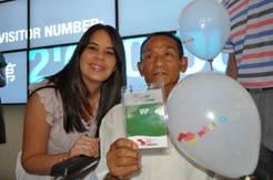 Expo 2010: México recibe el visitante dos millones