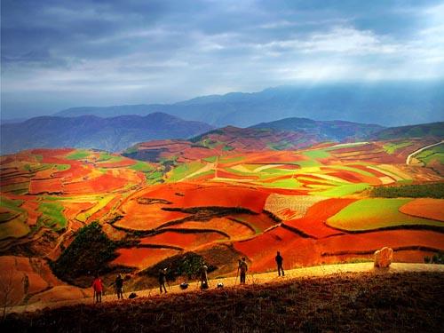 Cuatro paraísos multicolores de China para los turistas