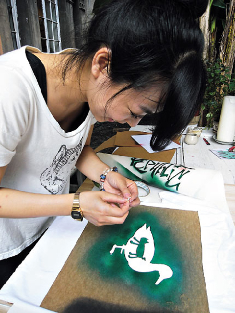 Arte artesanía viejos longtang 1