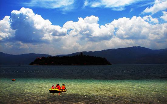 lago Fuxian de Yunnan 1
