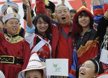 Las celebraciones del Día del pabellón de China en la Expo.Shanghai