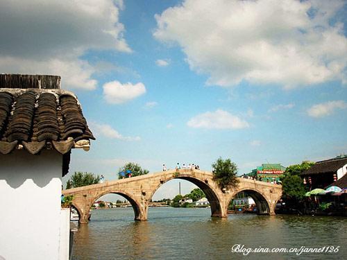 Zhujiajiao pueblo agua Shanghai 2
