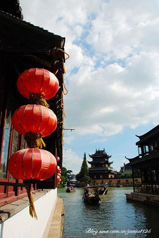 Zhujiajiao pueblo agua Shanghai 1